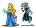 Fusions: Aurendelle and Gwenelle by JaviDLuffy
