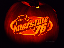 Interstate '76 Pumpkin by ceemdee