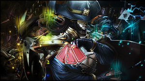 Twisted Fate Signature. by FlyingGinger