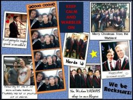 Warblers Scrapbook page 2 by ChadtheFab