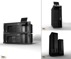 3d servers models by AndexDesign