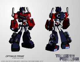 TF:Ignition - Optimus Prime (Cyb. Robot Mode) by KrisSmithDW