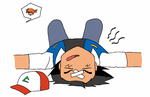 Wild Ash Fainted ! by TrainerAshandRed35