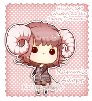 Rammie Adopt common (CLOSED) by Kariosa-Adopts