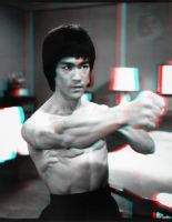 Bruce Lee Punch 3-D conversion by MVRamsey
