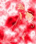 Red Lightning Dress by AZombieProduction