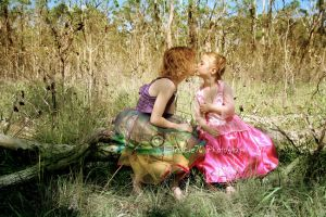 Two Little Princesses by tracieteephotography