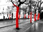 red trees 01 by Nephilim82