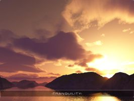 Terragen- Tranquility Bordered by theloz