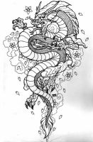 Dragon Tattoo by el-texugo