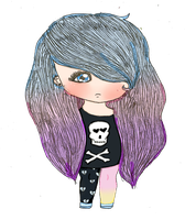 Pastel Goth Adoptable [CLOSED] by Sunnimi