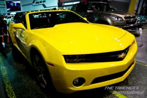 Yellow Chevy Camaro Concept by thetrackers