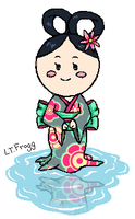 Lady Water Lilly by Lt-Frogg