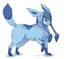 Glaceon Collab by BBH