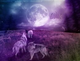 Pack of Wolves by RookieVerve