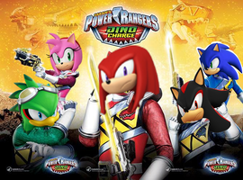 Sonic Rangers Dino Charge by Nitroguy7