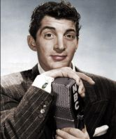 NBC Mic Dean Martin Colorized2 by ajax1946