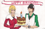 HAPPY BIRTHDAY -Tiger and Bunny by amouse-withasadtale