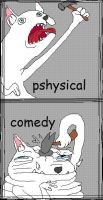 psycichal comedy by yasuoxingxing