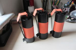 TF2 Pyro grenades by GingerwithHat