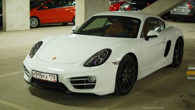 Porsche Cayman by ShadowPhotography