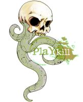 Skull Tentacles by playkill