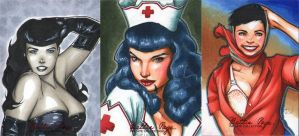 Bettie Page Pvt Collection 02 by RichardCox
