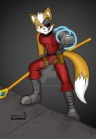 Dark Fox Mccloud by Dreadmon