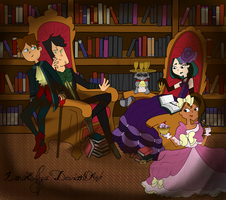 Royalties of the Library by LanaEliza
