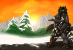 Ride Along The Sunset by windwolf1575