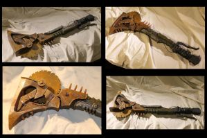 Borderlands Psycho Bandit 1:1 Scale Buzz Axe Prop by SKSProps