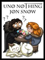 Uno nothing Jon Snow by ManueC