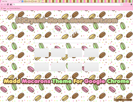 Madd Macarons Chrome Theme by Crystal-Moore