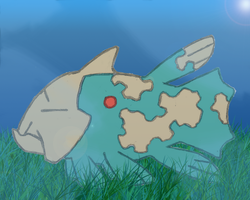 Shiny Relicanth
