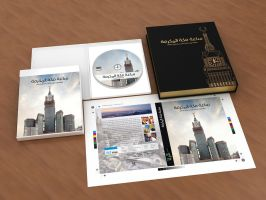 Branding | Makkah Clock Tower DVD by Digital-Saint