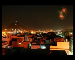 Pushkar Night by MaxMG