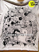 DINO'S LUNCH T-SHIRT by ELECTRICPOPPERS