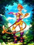 Breath of Fire - Katt by GENZOMAN