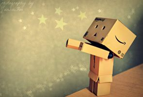 Danbo Starry Night by JunsuiFox