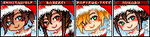 DGM MARK Christmas Icons by ChikitaWolf
