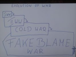 FAKE BLAME WAR 2014 by DAGAIZM