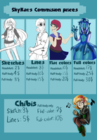 SkyKat Commission Prices 2014 by 0SkyKat0