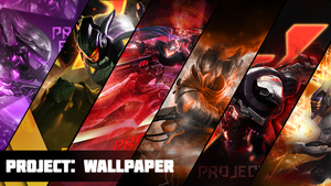 Project: Wallpaper by Dwindlekin