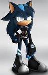 THAT GIRL WITH THE ZIP ZAPS (finished) by Tesla-That-Hedgehog