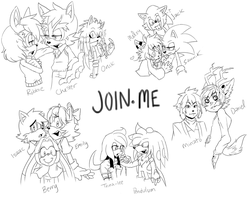 Join. Me Doodles 01 by FlashnTails