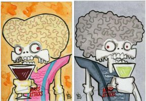 Mars Attacks Invasion - Martini Time by 10th-letter