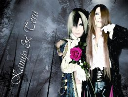 kamijo and teru by murderfreak