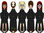 Harry Potter Group Oc's by Geini