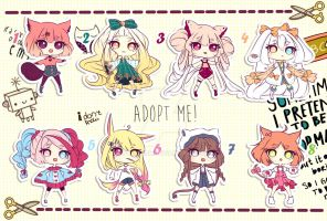 [CLOSED TY] Adoptable Batch 26 - ADOPT ME! by Puripurr