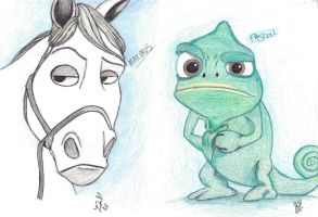 Maximus and Pascal by JadeRoseL